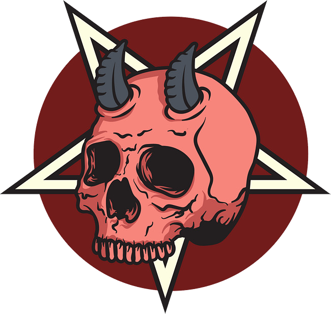 Clipart skull demonic. Demon png image purepng