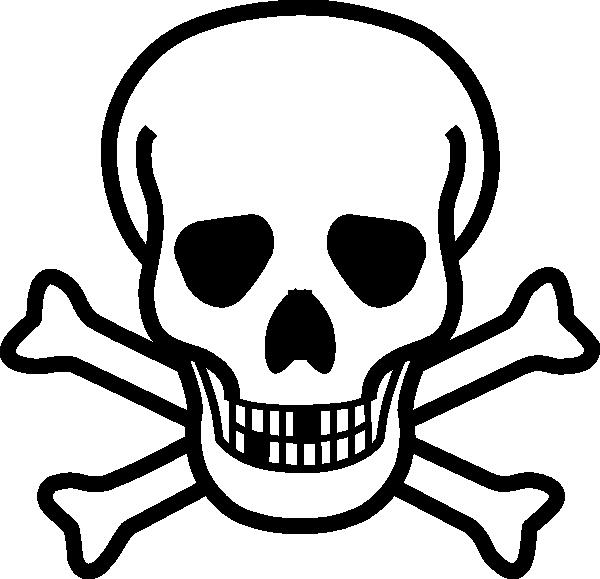 Skull black clip art. Nose clipart large nose