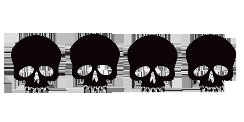 Image border png animal. Clipart skull feminine
