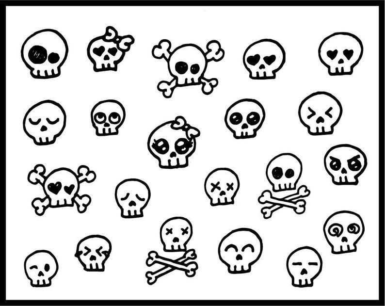 Cute candy skulls skullcandy. Clipart skull feminine