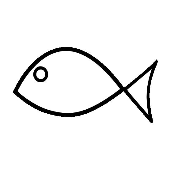Clipartist black white line. Net clipart clip art fish