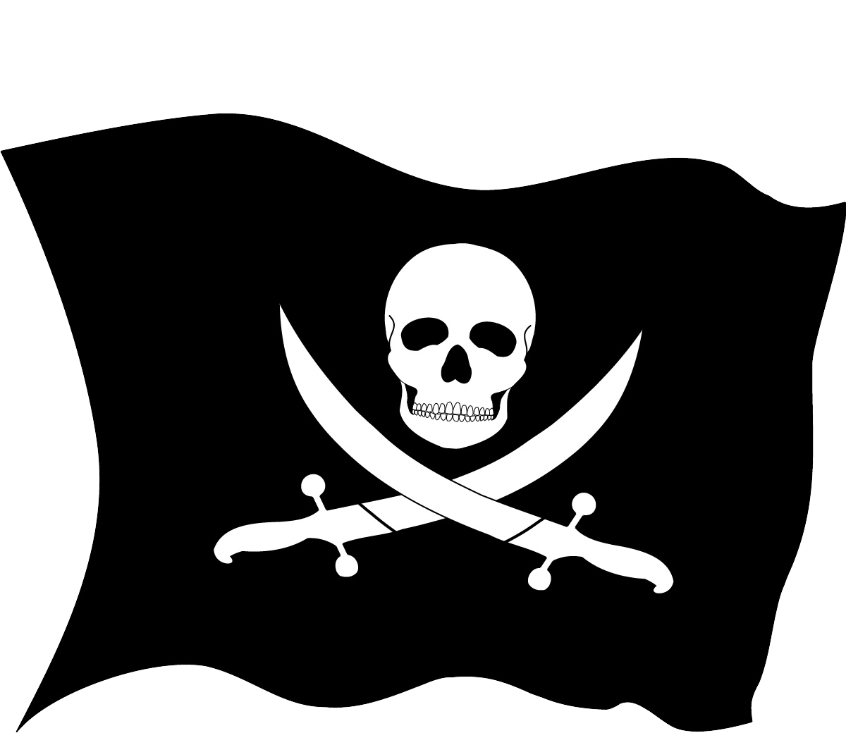 Pirate group png. Criminal clipart capture the flag