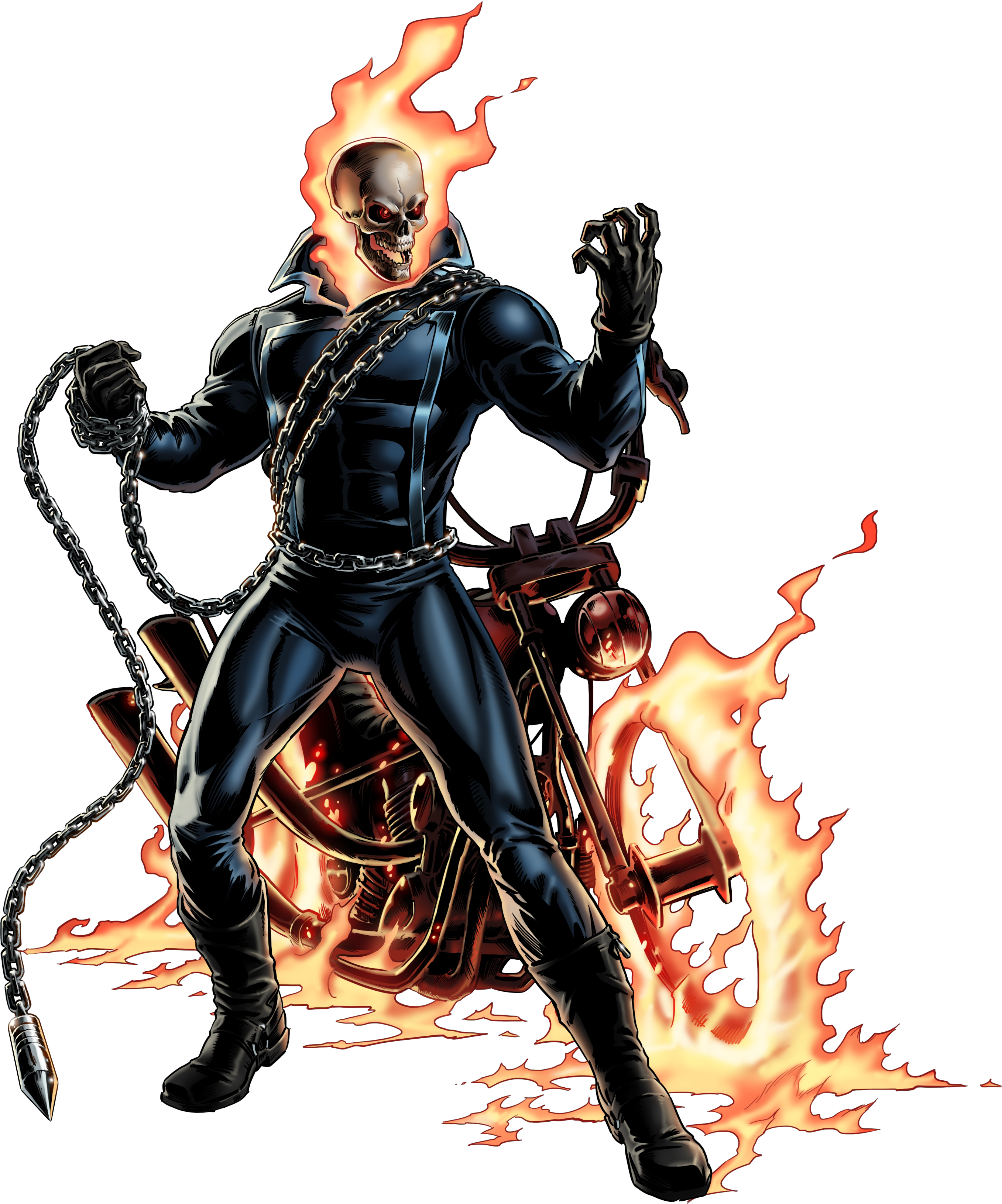 Pinterest marvel and comic. Clipart skull ghost rider