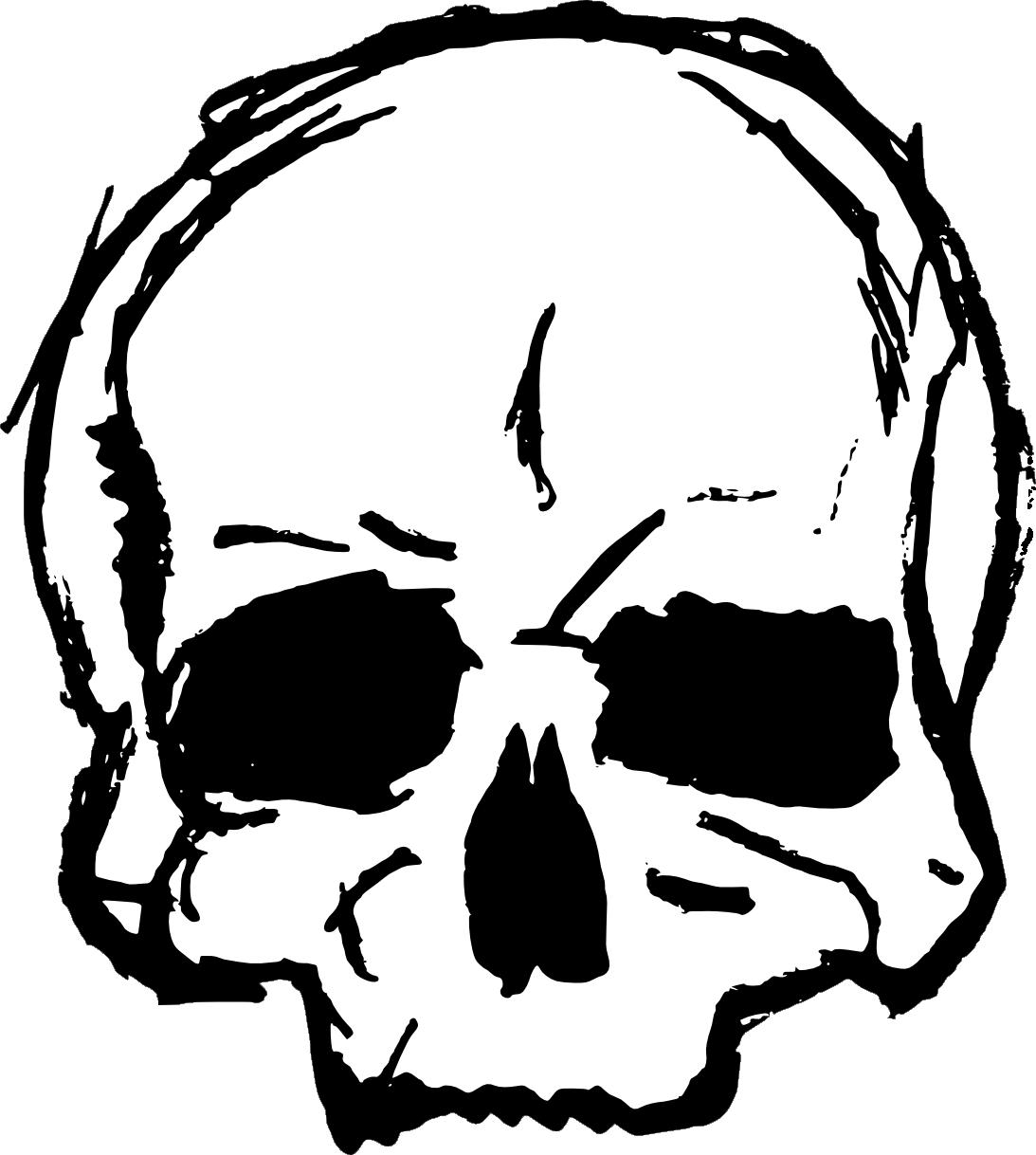 drawing vector svg. Clipart skull grunge