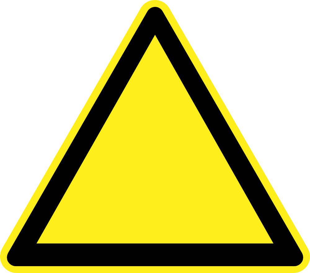 Caution signs free download. Electrical clipart warning