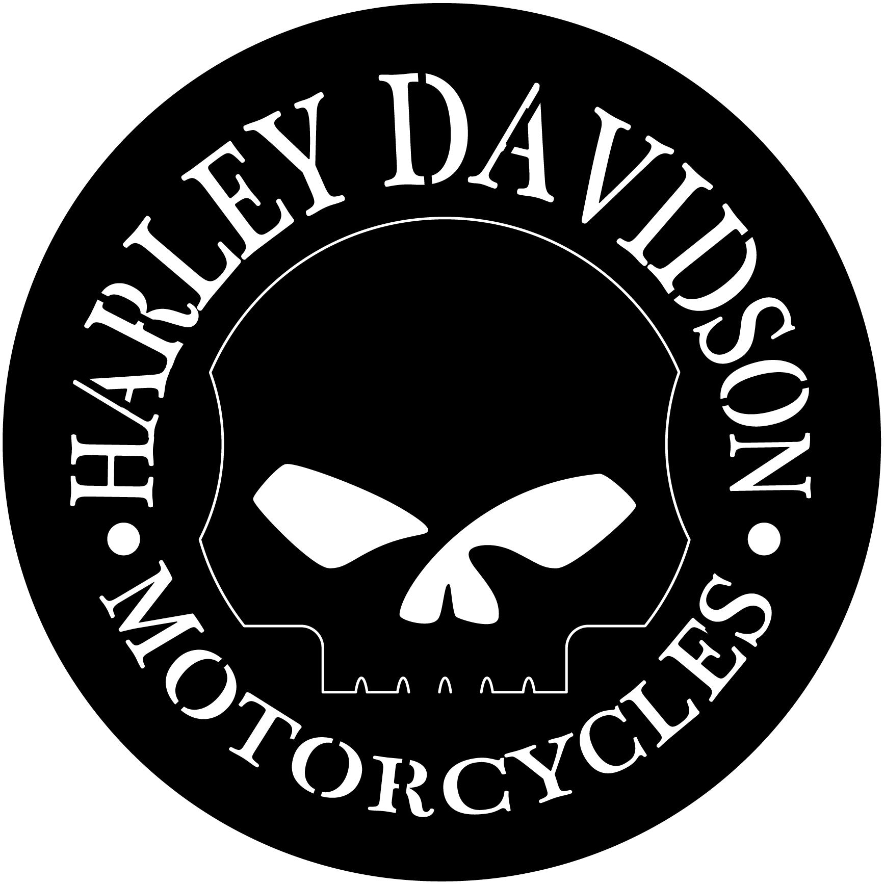 Harley Davidson Motorcycles Skull DXF file | Cnc clip art ...
