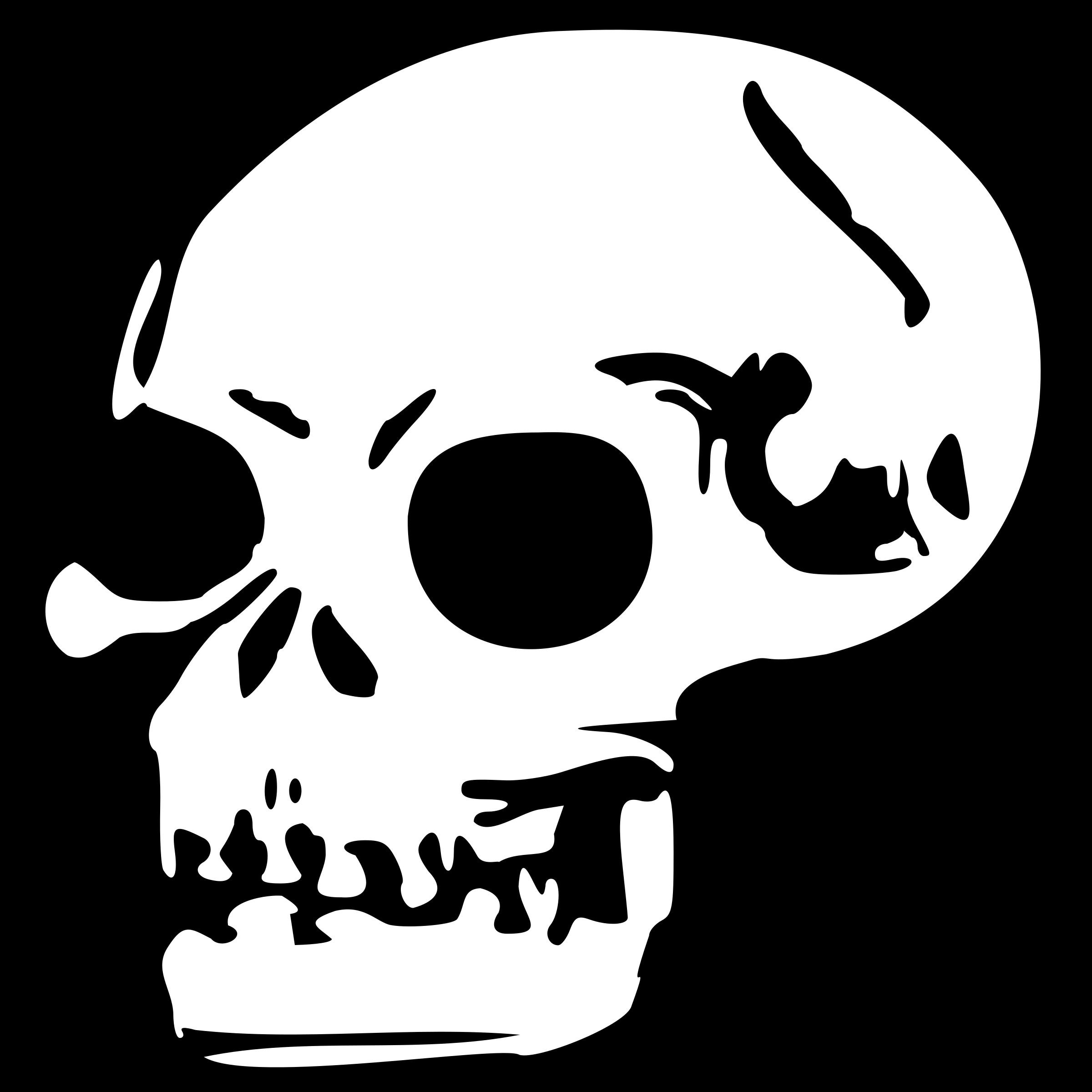 Dead clipart skull drawing. Big image png