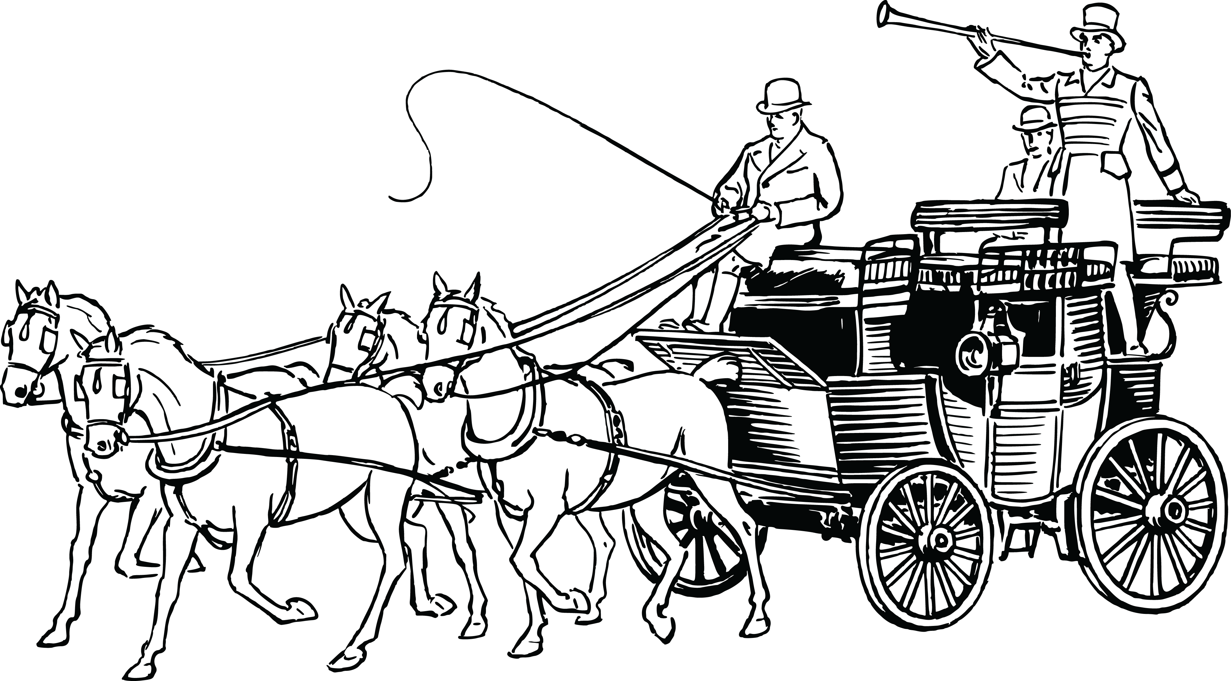 Indian clipart bullock cart. Horse and carriage collection