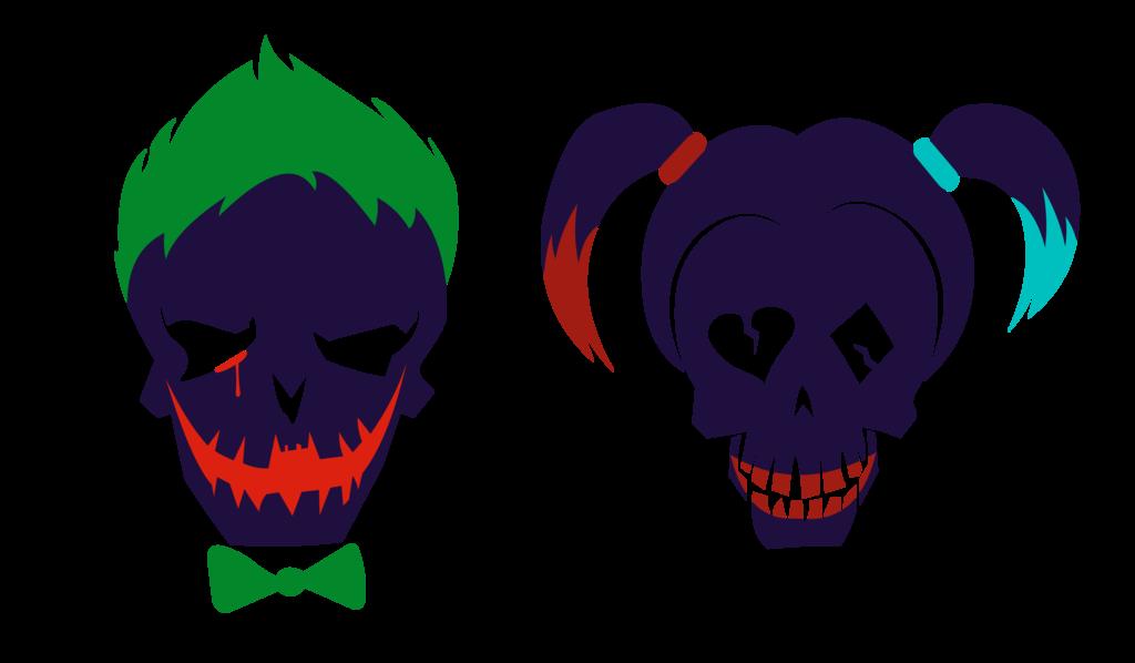 joker clipart skull