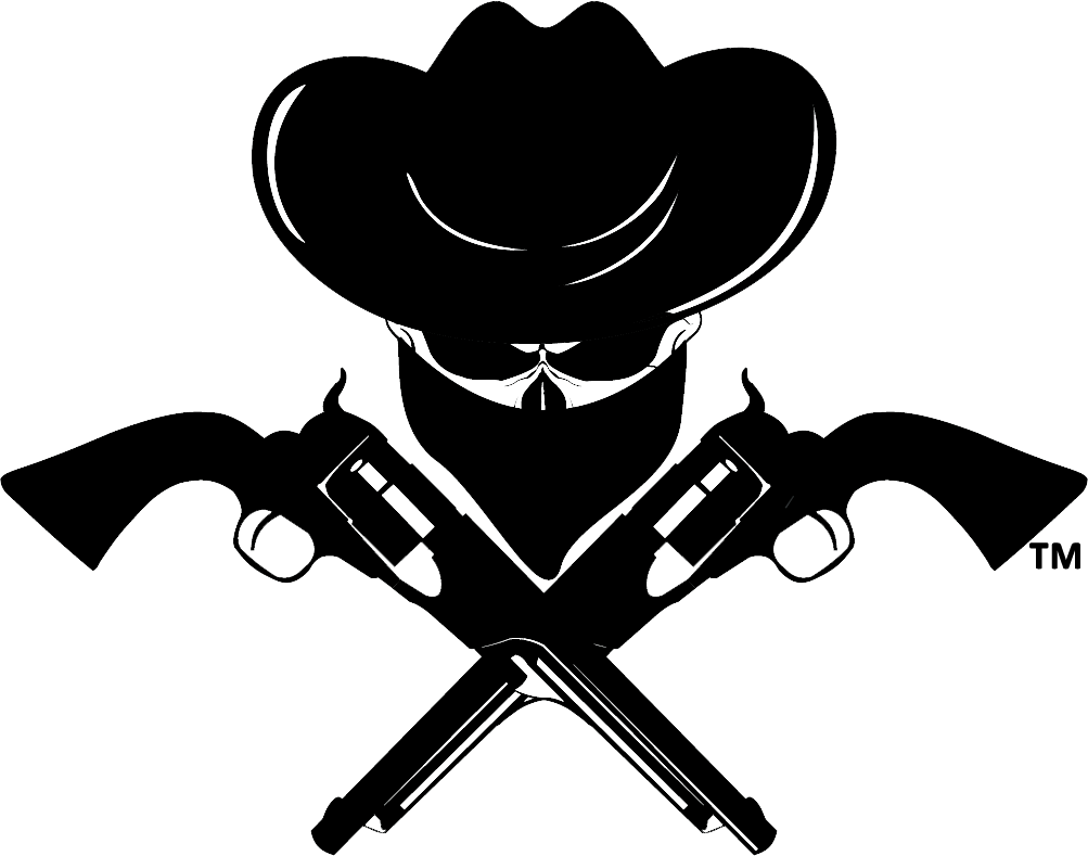 Outlawdipper logos . Cowboy clipart cowboy shooting
