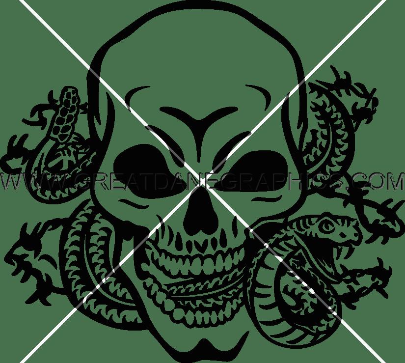 Cobra clipart skull. Snake drawing at getdrawings