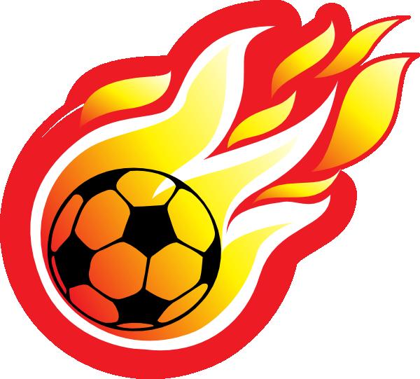 Comet clipart metor. Soccer fireball clip art