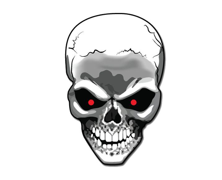 Clipart skull motorcycle, Clipart skull motorcycle ...  Transparent Skull Clipart