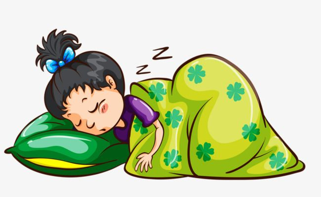 Nap clipart childrens bed. Sleeping child go to