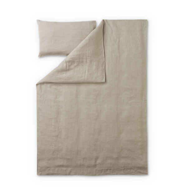 Elegant linen jesus cover. Quilt clipart duvet