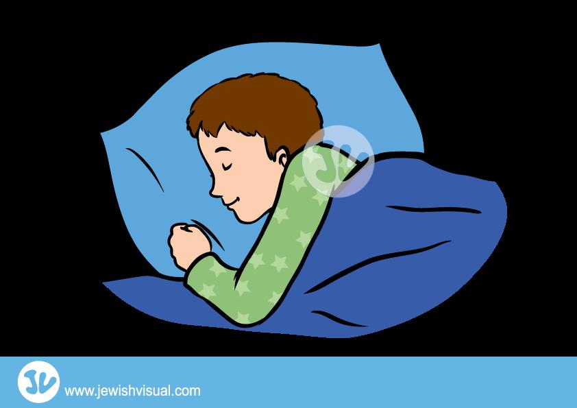 Clipart sleeping boy. Jvisual boysleeping