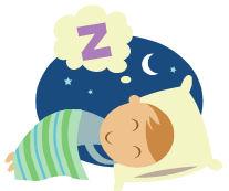 Clipart sleeping child's. Child panda free images