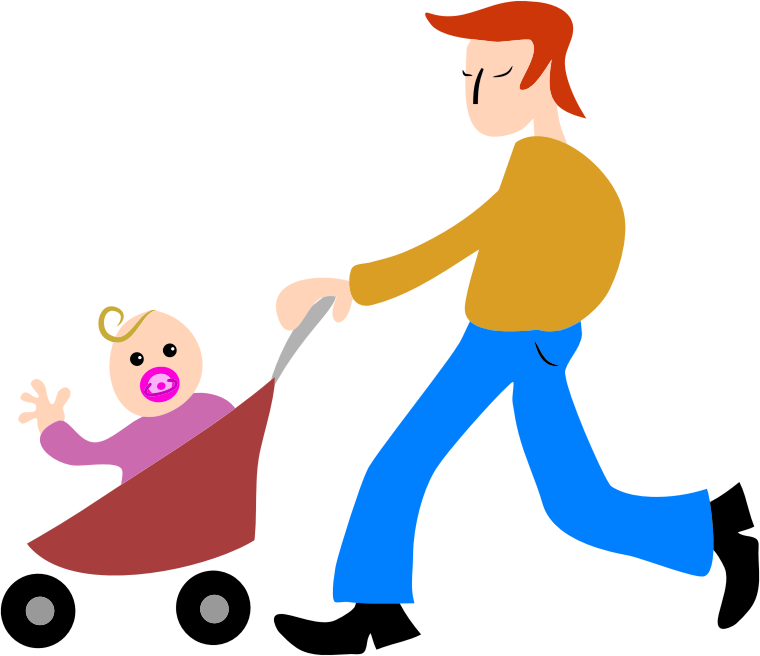 Father clipart caring father. Dad and baby transparent
