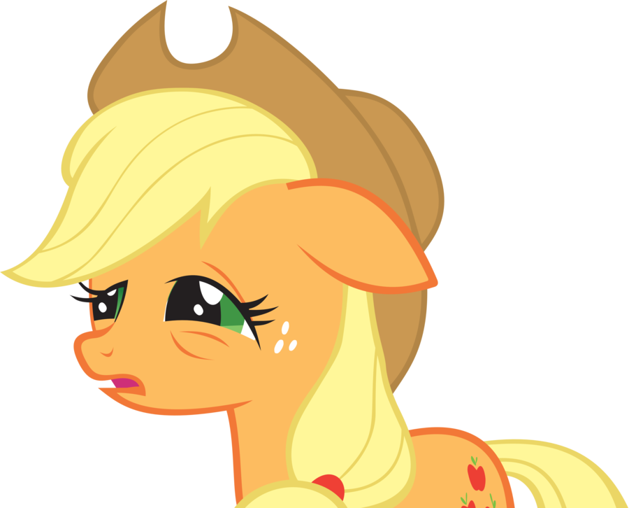 Tired applejack by fabulouspony. Hungry clipart deprivation