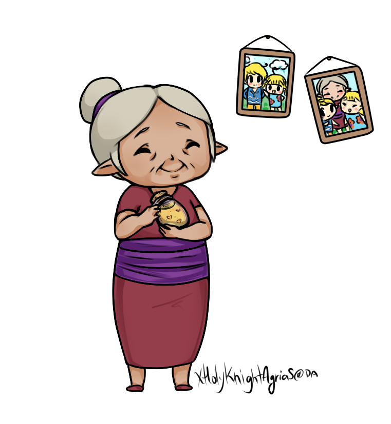 Clipart sleeping grandma. S soup by xholyknightagrias