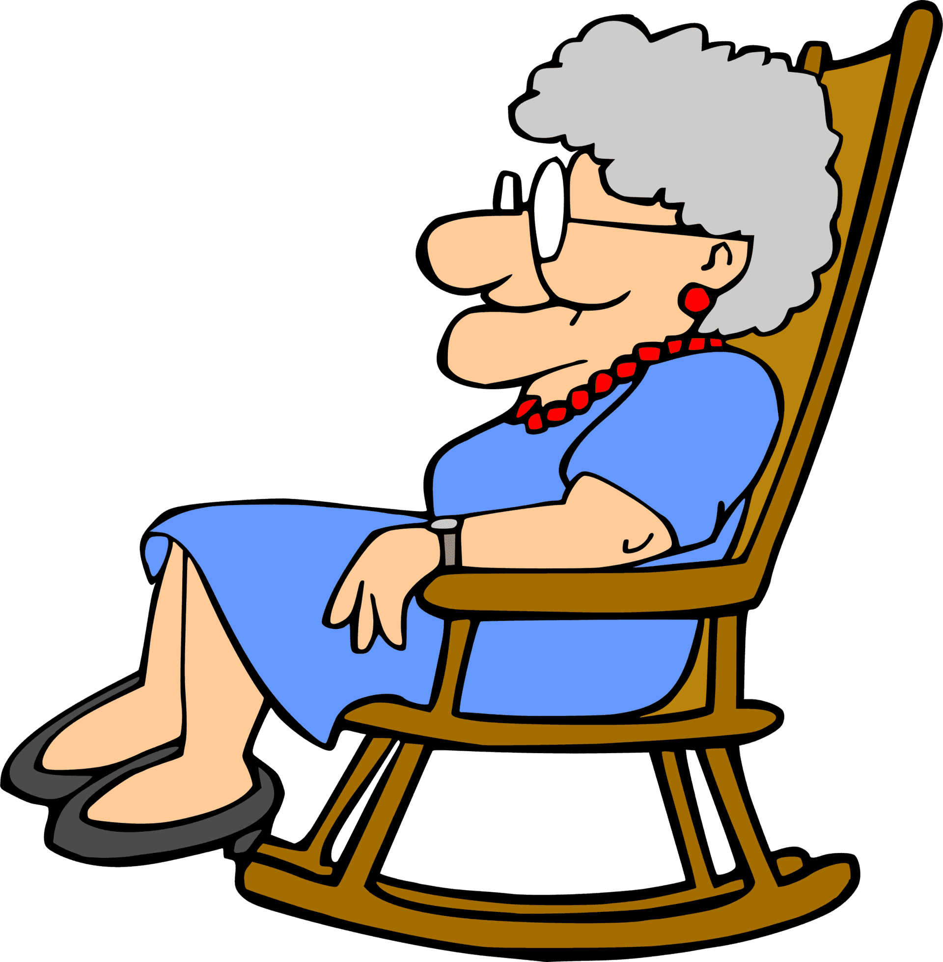 Sex offenders in nursing. Clipart sleeping grandma