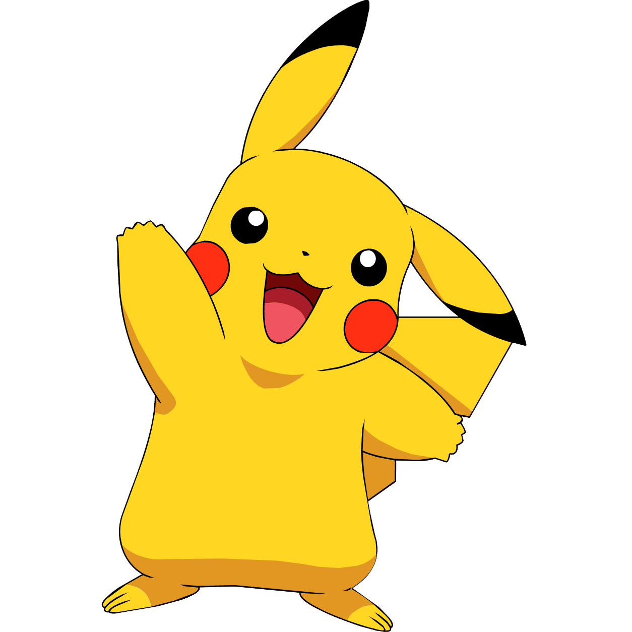 Pikachu Transparent Background