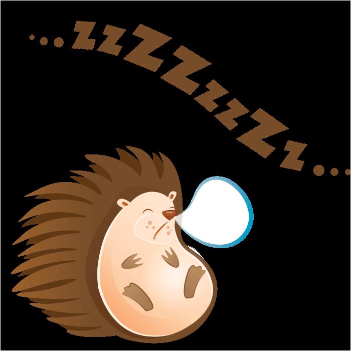 Clipart sleeping hedgehog. The friends of wool