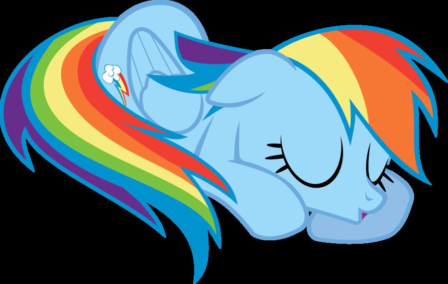 Time rainbow dash by. Nap clipart transparent