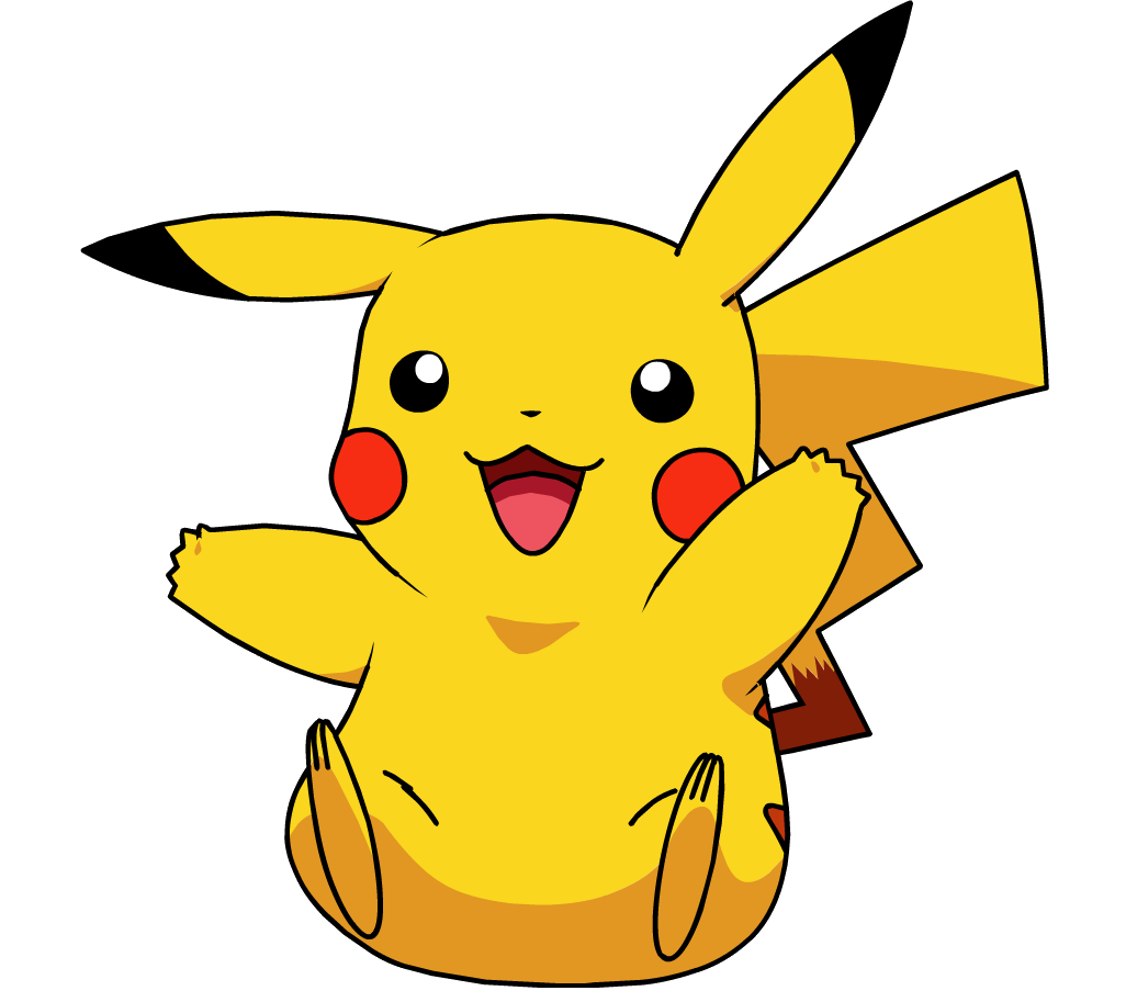 Electricity clipart happy. Pikachu was always the