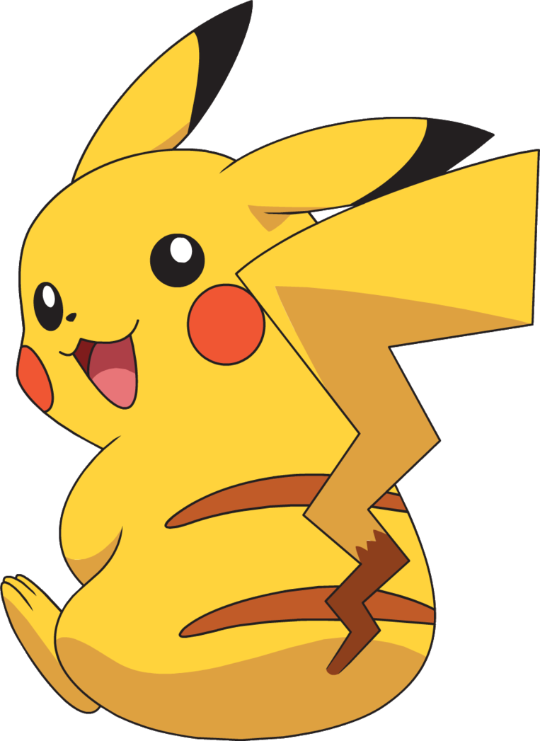 Clipart sleeping pikachu. The video game by