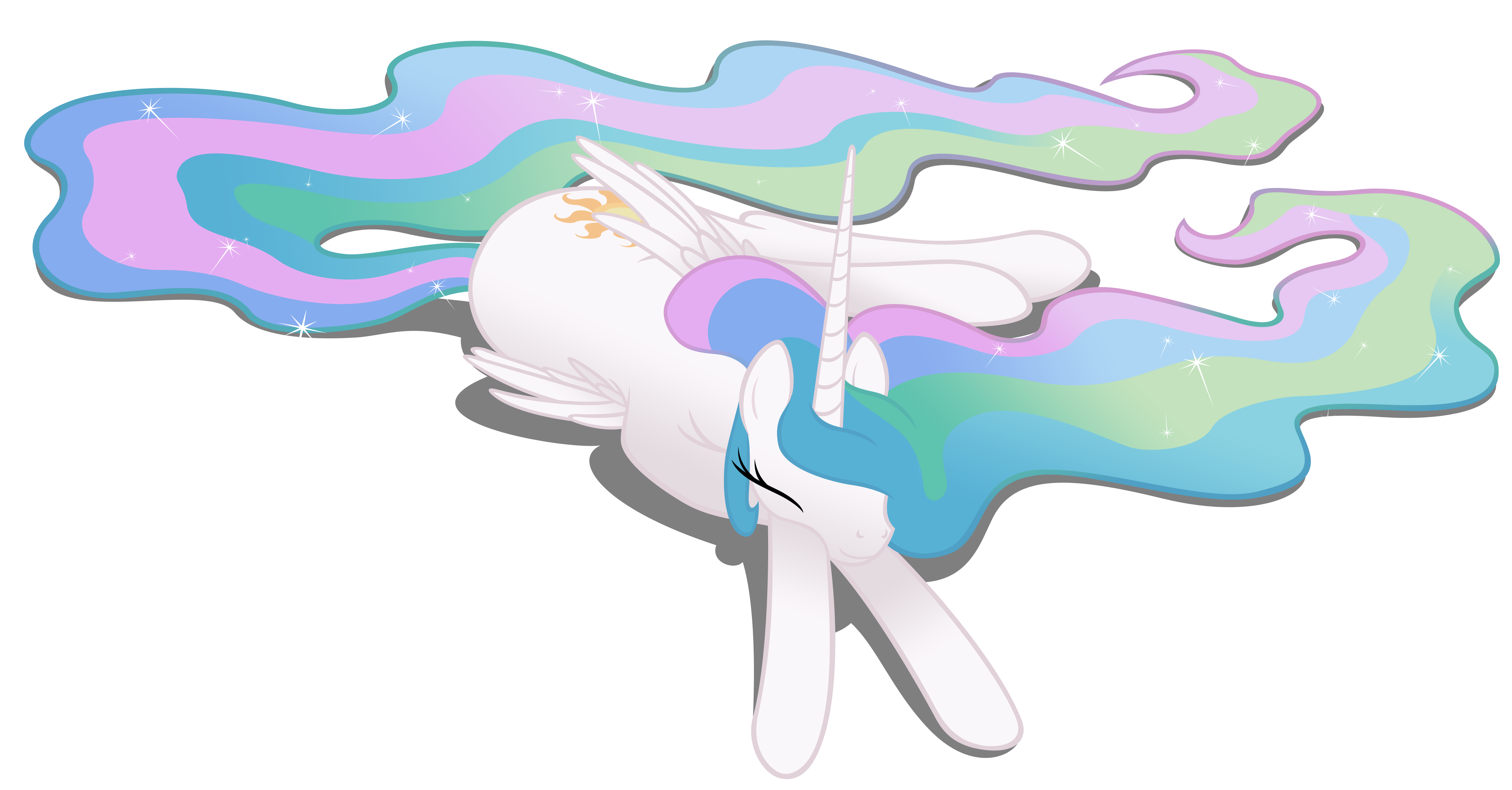 Celestia sleeps in with. Tired clipart linger