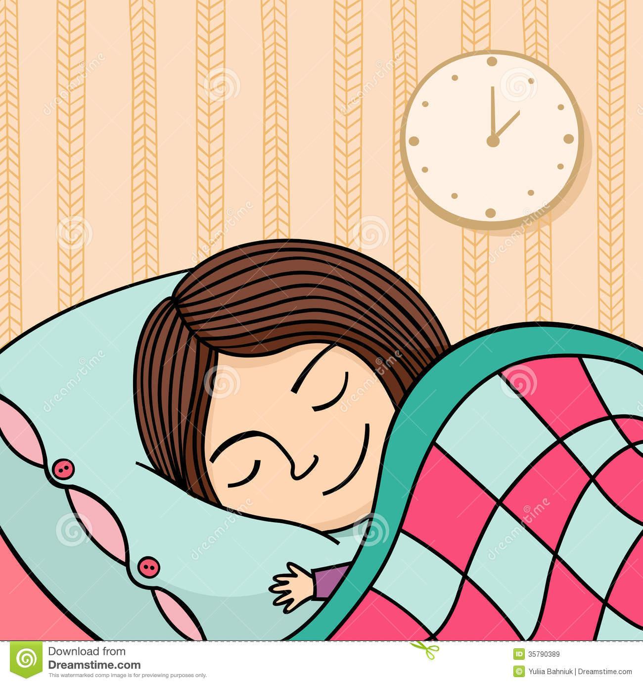 Woman sleepy pencil and. Clipart sleeping rest sleep