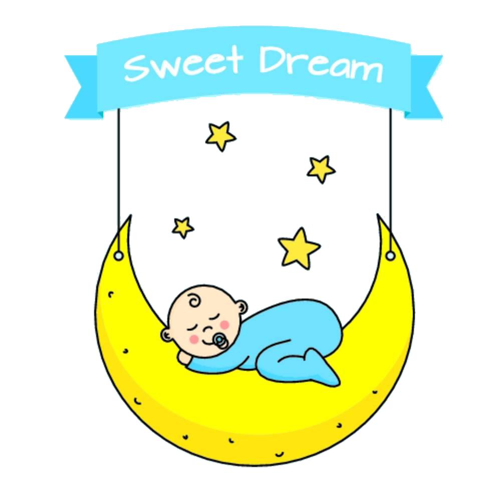 Infant clipart baby design. Cartoon sleep clip art