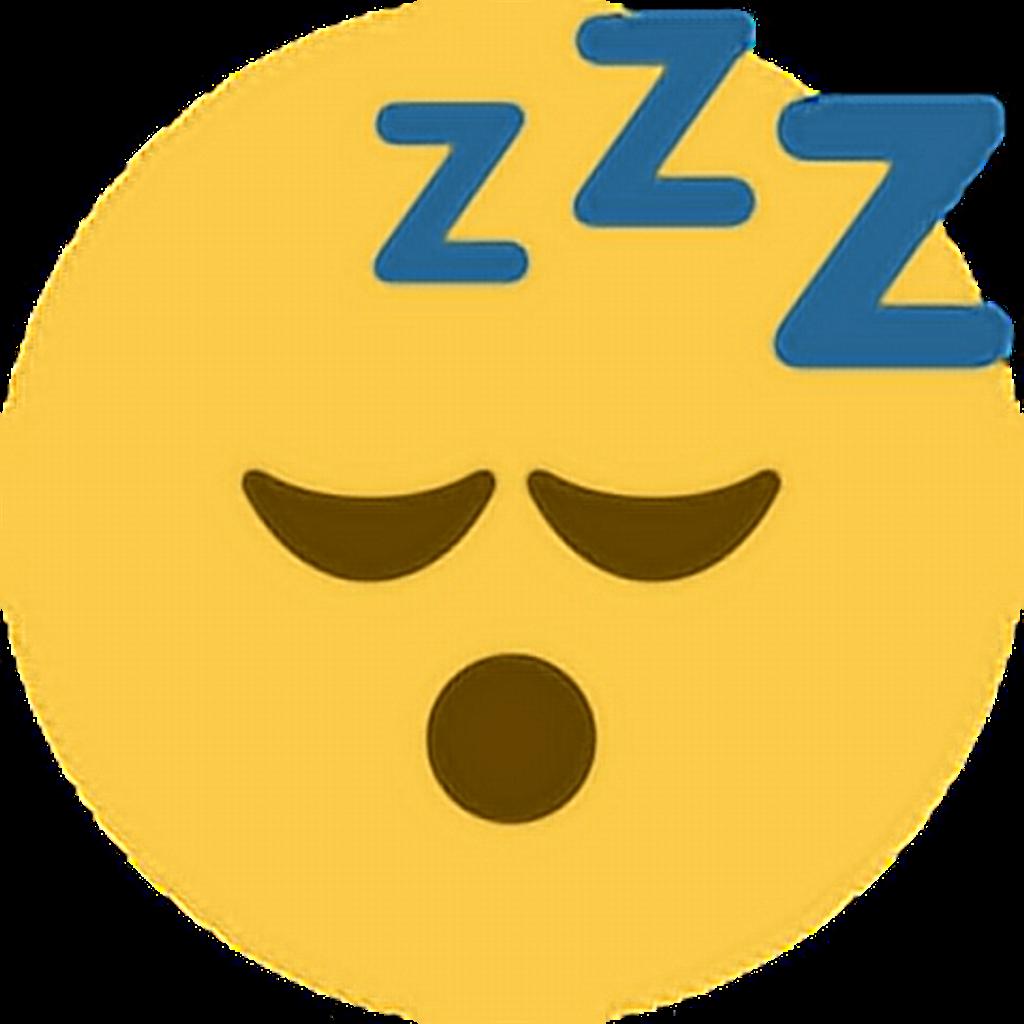Sleep sleepy zzz emoji. Tired clipart tierd