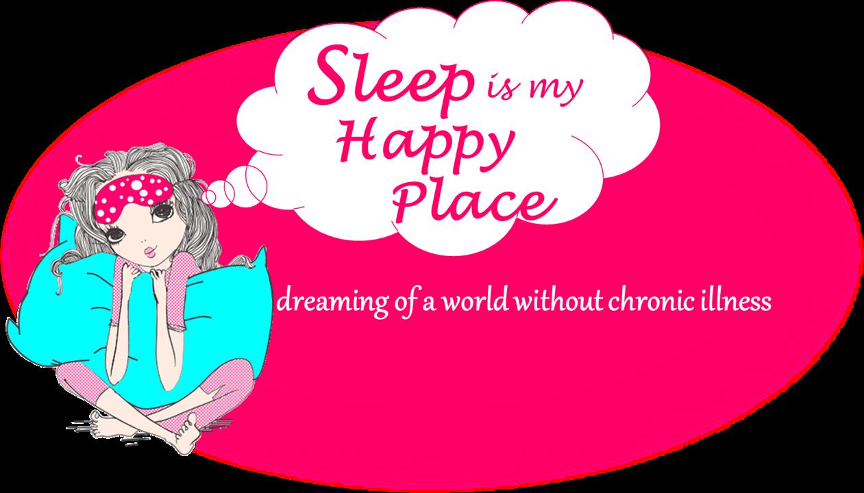 Sleep is my happy. Hurt clipart chronic illness