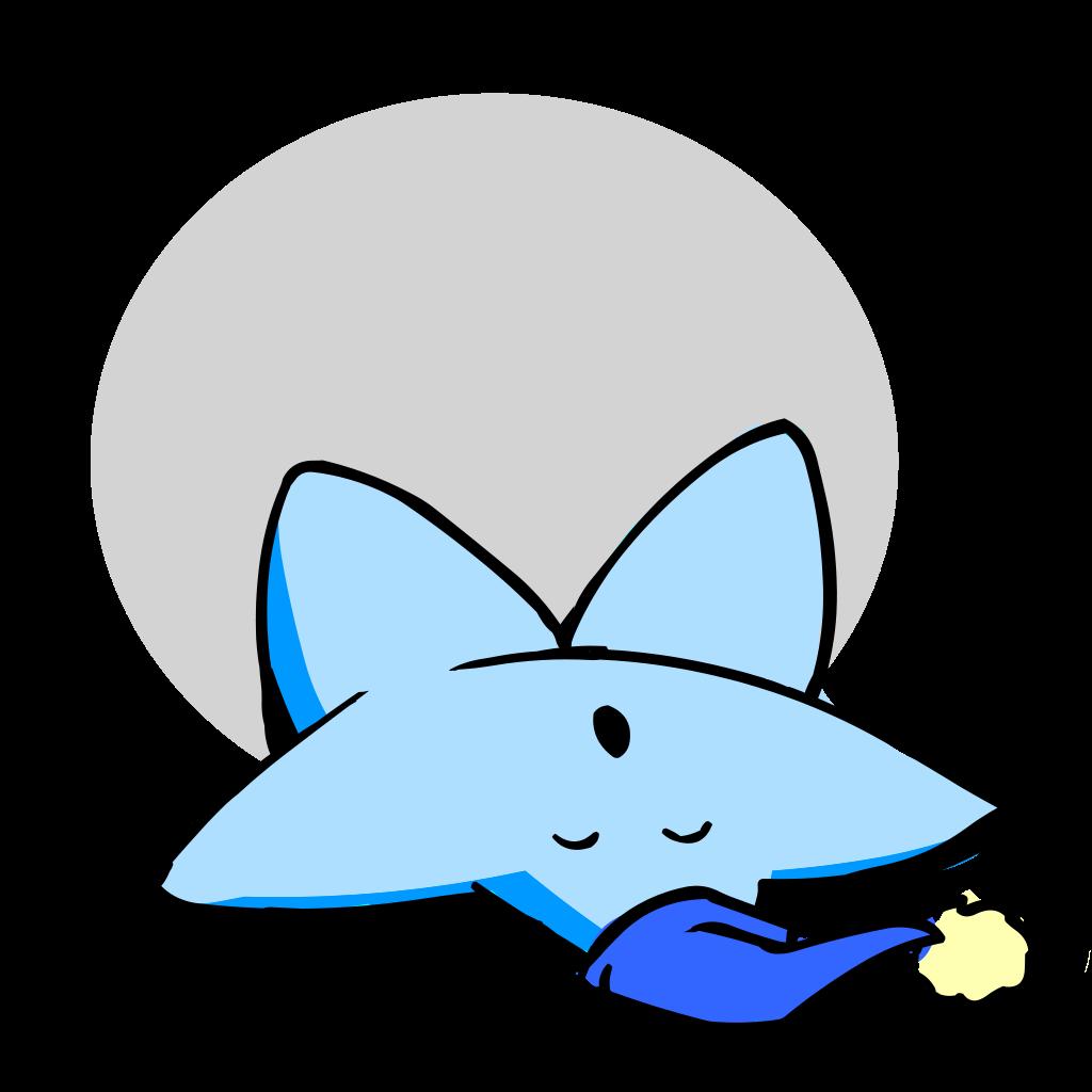 Fish clipart talk. File lazy sleeping barnstar