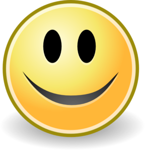 Clipart smile. Tango face clip art
