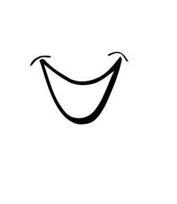 Clipart smile. Cartoon clip art at