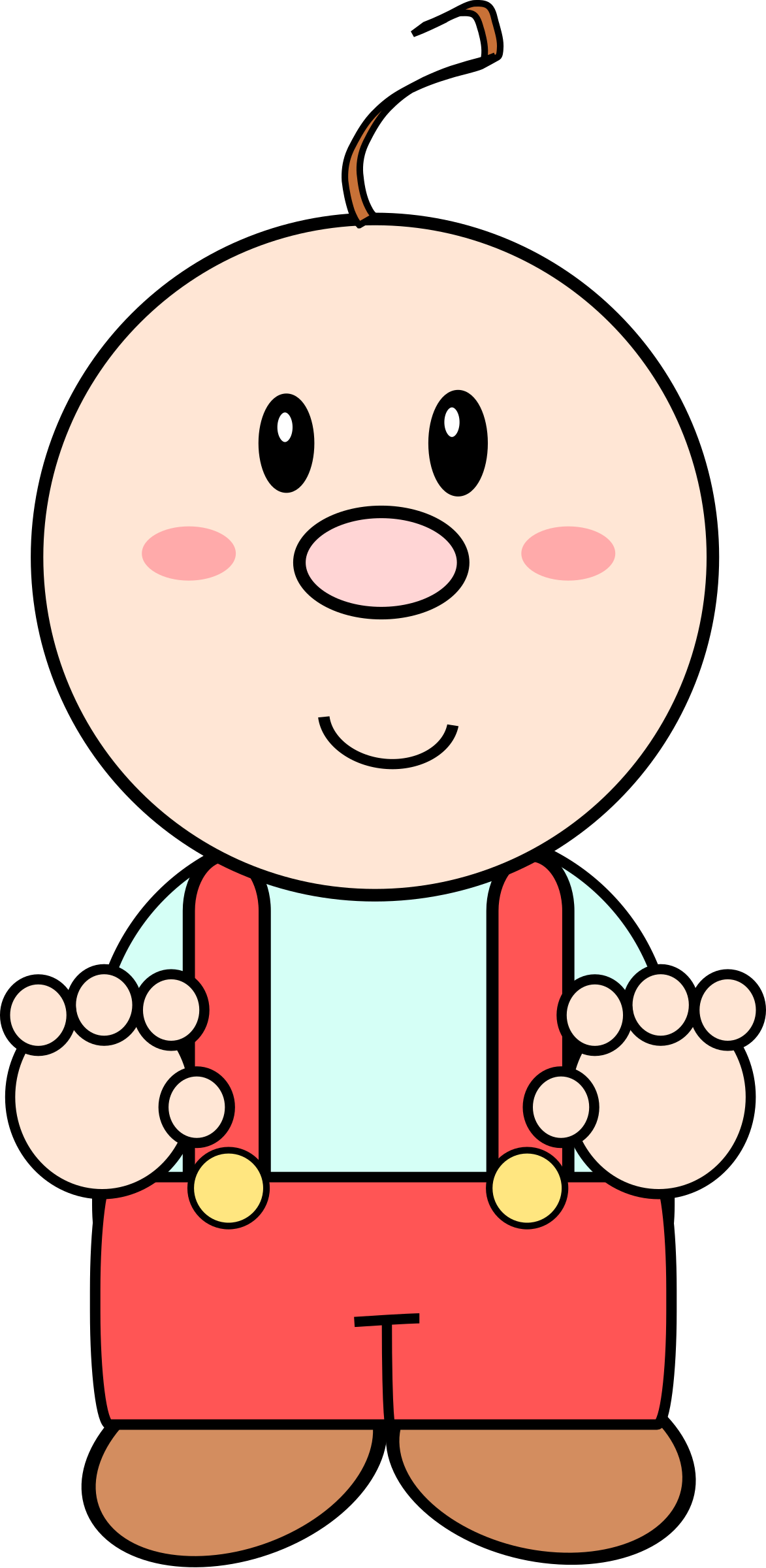 Clipart smile baby. Cartoon big image png