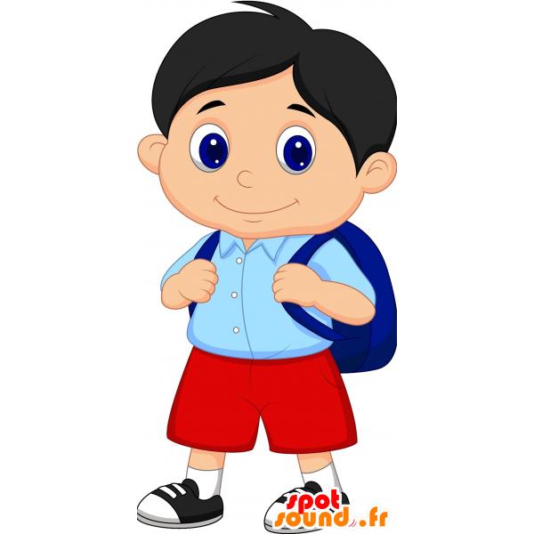 Purchase mascot child boy. Clipart smile boy's