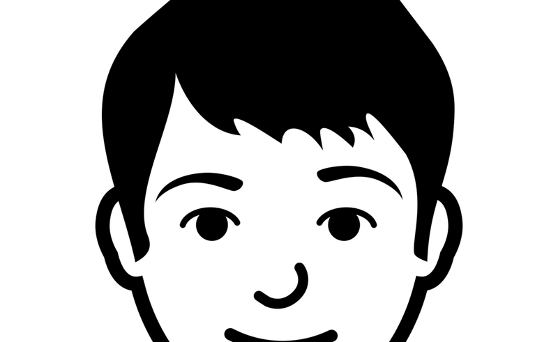 Emotions smiley clip art. Young clipart brother face