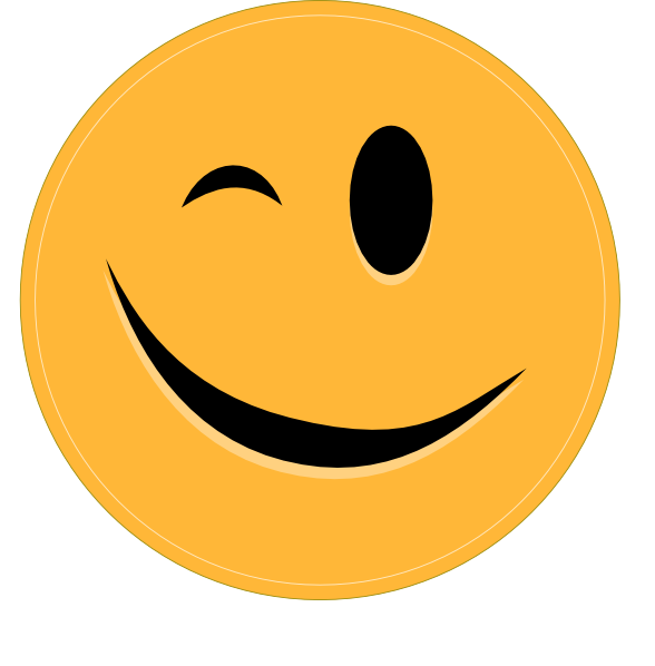 Clip art at clker. Clipart smile cheeky smile