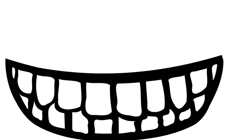Grin face clip art. Witch clipart mouth