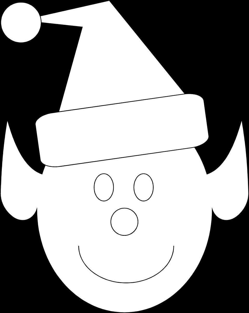 Elves clipart elf face. Free stock photo illustration