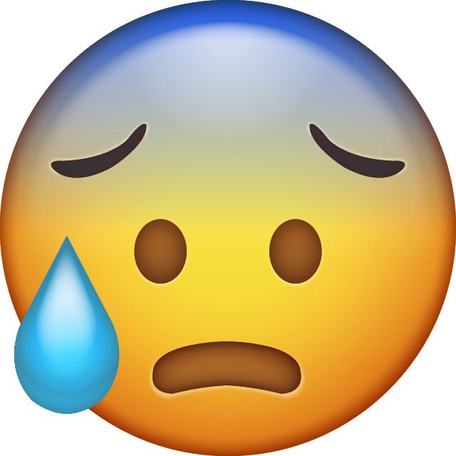 Download new icons in. Nervous clipart nervous emoji