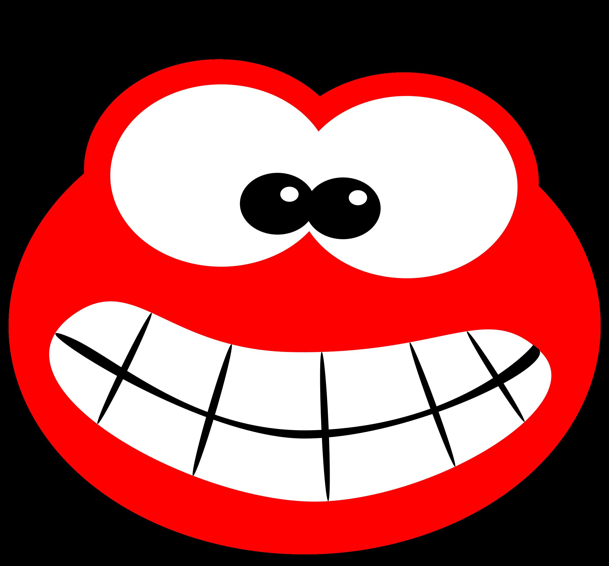 Health clipart dental health. Blob smiling big image