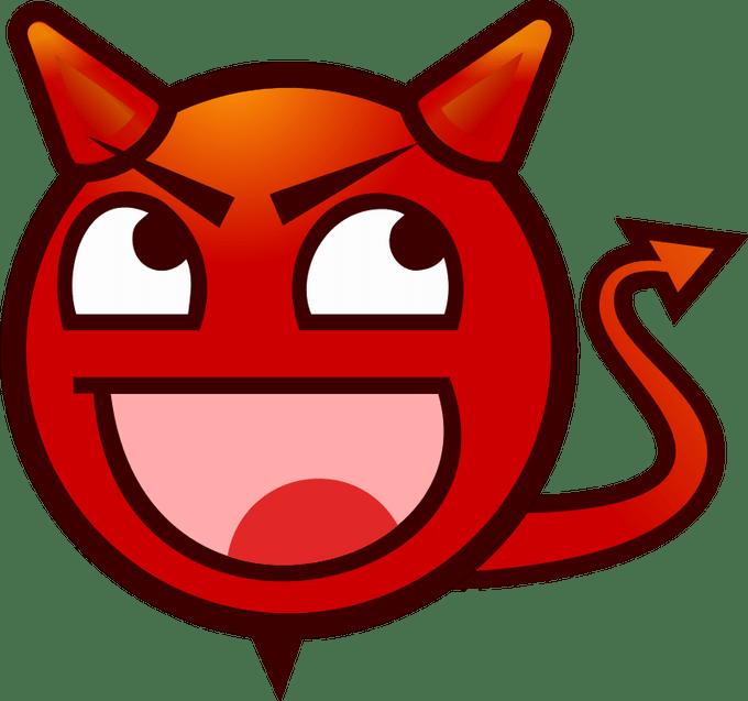 Trident clipart devil pitchfork. Cute cartoon images siewalls