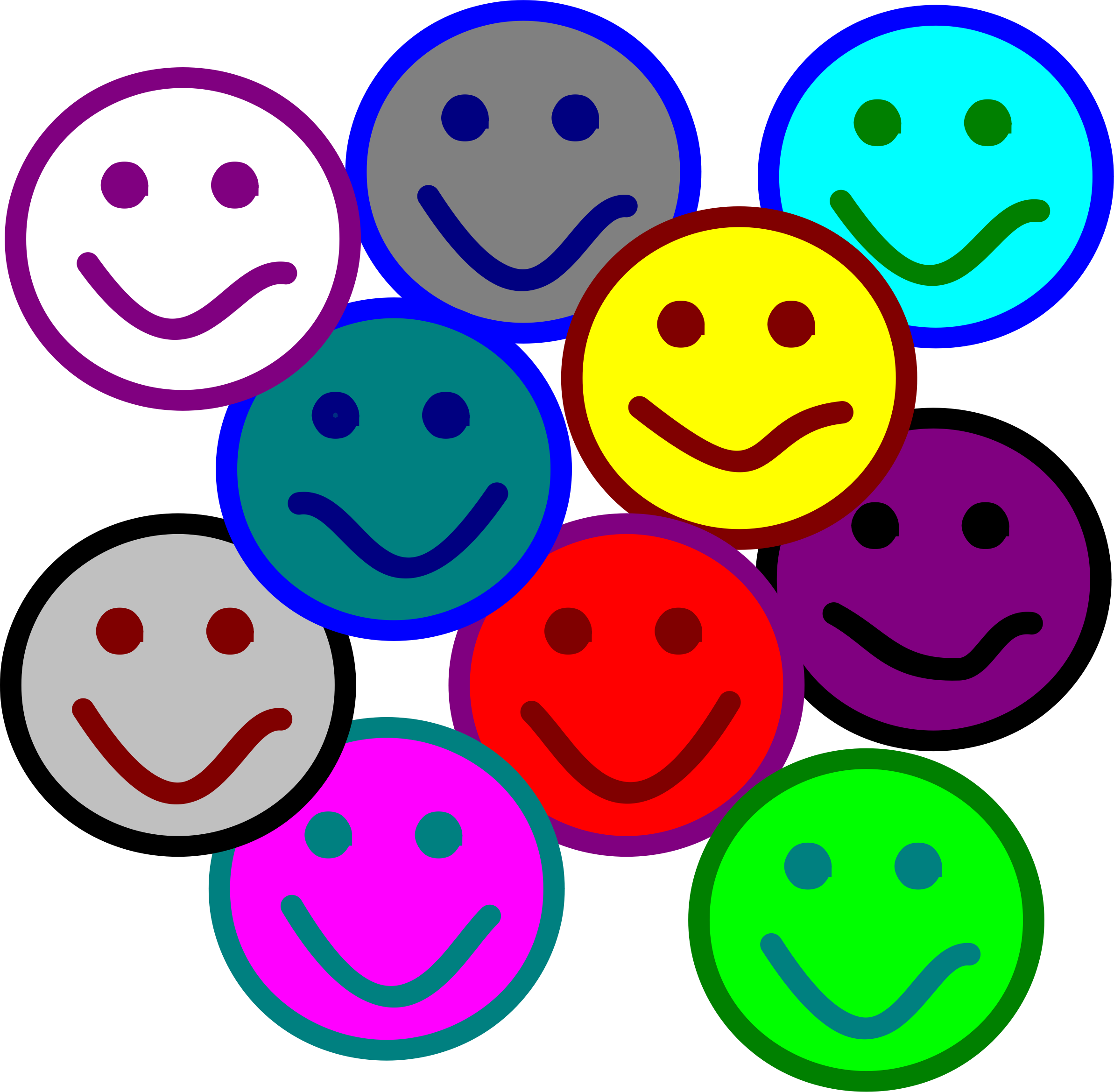 People clipart smile. Smiles big image png