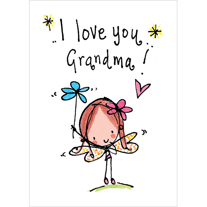 I love you juicy. Mad clipart grandma