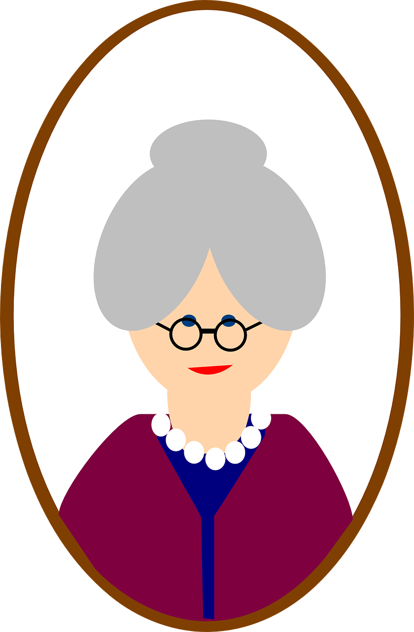 Clipart smile grandma. Absolutely not brilliant viewpoint